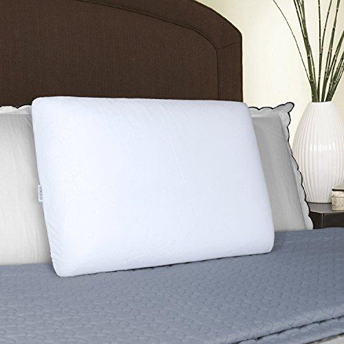 - HoMedics Classic Memory Foam Pillow, White