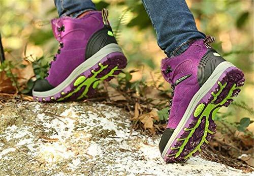 Outdoor Scarpe trekking in da amanti da da Scarpe Scarpe Plus in donna antiscivolo da gli Help passeggio High viaggio Exing donna per Scarpe pelle C Scarpe velluto atletiche Uomini da xf7YwtXqn
