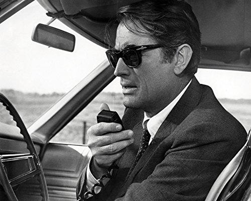 Gregory Peck Looking Cool In 1960'S Sunglasses In Marooned 16X20 Canvas - Peck Gregory Sunglasses