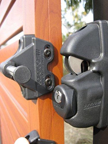 Safetech Viper Gate Latch, SLV-Viper-X2 in Black for Swimming Pool Gates