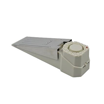 1 alarma para tope de puerta de color blanco, alarma de ...
