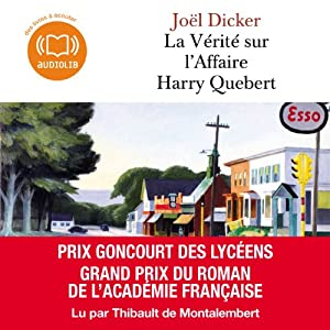 La Vérité sur l'Affaire Harry Quebert Audiobook