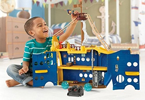 Fisher-Price - Disney Jake and the Never Land Pirates - Mighty Colossus (Peter Pan Jake And The Neverland Pirates)