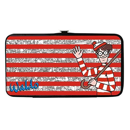 Where's Waldo? - Land of Woofs Pose/Stripes - Lady's Bi-Fold Hinge (Wizard Whitebeard)