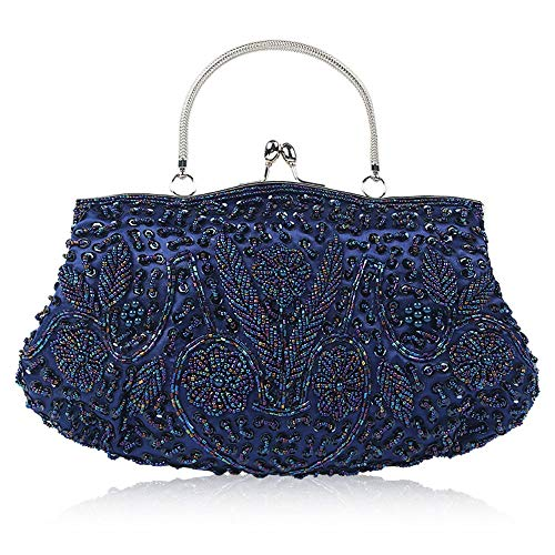 Handbags Evening Purse Rhinestone Diamond Handbag bag Beading Bridal Parties Prom Xuanbao Clutch Suitable For Box Clutch Women Color Red Bags Dinner Party Evening Blue Purse Hard Evening xqv7IwRYP7