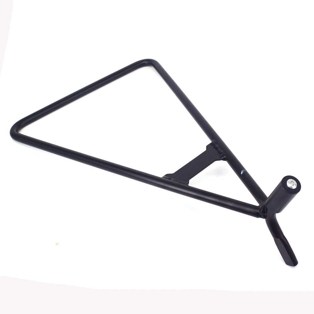 JFG RACING Black Universal Triangle Motorcycle Stand Lift Holder 14.5mm 11mm 18mm For Honda Yamaha Suzuki Kawasaki KTM Dirt Pit Bike SuperMoto