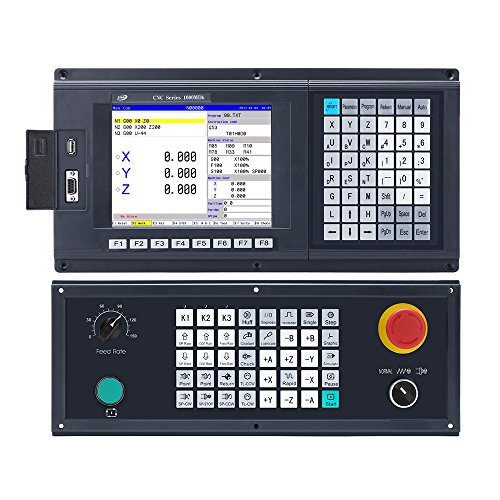 4 axis CNC Milling machine controller system 8.4 inch with encoder