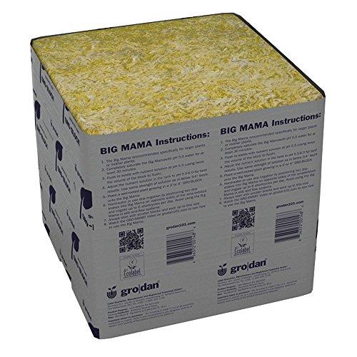 Grodan Wholesale Case GRO-Blocks Plant Containers, Big Mama, 18 Count
