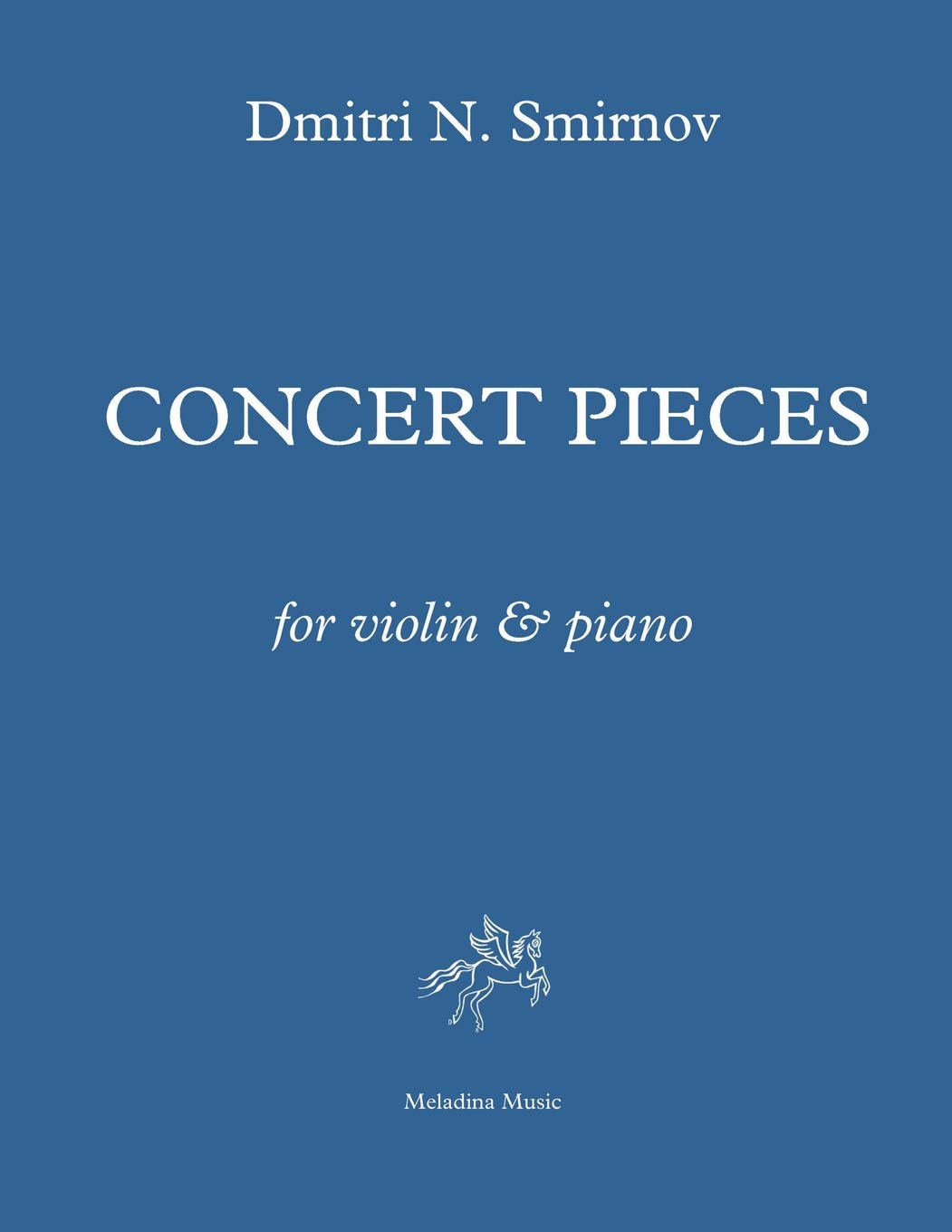 Download Concert Pieces for violin and piano: Score and part (Meladina Music Series) (Volume 22) PDF