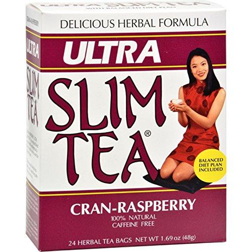 Ultra Slim Tea, Cran-Raspberry, Tea Bags, 24 Count Box 1