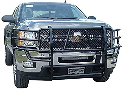 Amazon Com Ranch Hand Ggc111bl1 Legend Grille Guard For Chevy