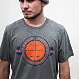 Unisex Men and Women KD Hard Work Tee Shirt OKC Oklahoma City Adult Grey Triblend by Shop Good