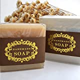 CHAWOORIM Soap Wrapping Paper Tape Labels Soap