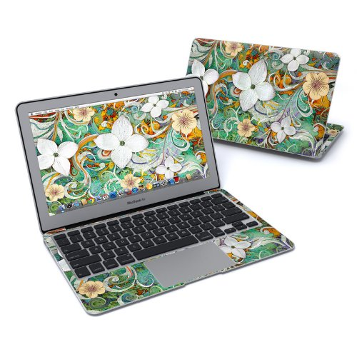 Sangria Flora Full-Size 360° Protector Skin Sticker for Apple MacBook Air 11