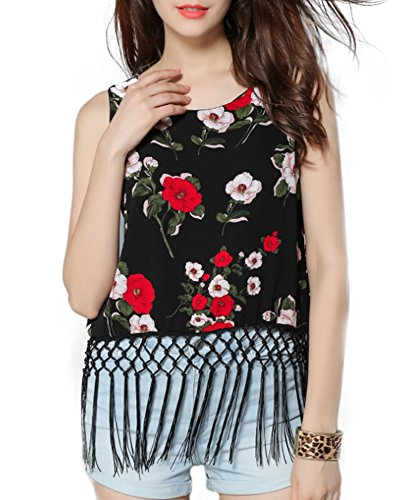 EASTHER Women's Sexy Sleeveless Spaghetti Bandage Crop Tops Cut Out Bustier Camisole Crop Top