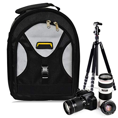 Priyam Series Waterproof DSLR Backpack Camera Bag Lens Accessories Carry Case for All Camera Bags & Others – Made in India