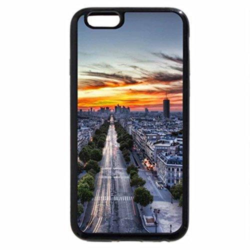 iPhone 6S / iPhone 6 Case (Black) sunrise in the city