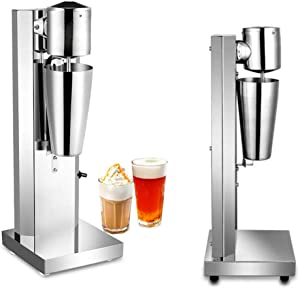 Commercial Electric Milkshake Drink Mixer Shake Machine 180W Smoothie Milk Ice Cream Blender 650ML