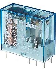 Finder serie 40 - Rele mini reticulado 5mm conmutado 16a 24vdc
