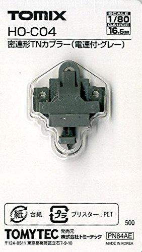 ■ トミックス (HO-C04) 密連形TNカプラー (電連付・グレー)(1個入) TOMIX鉄道模型HOゲージパーツの商品画像