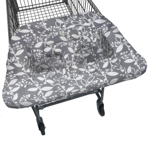JJ Cole Shopping Cart Cover, Ash - Shopping The Woodlands