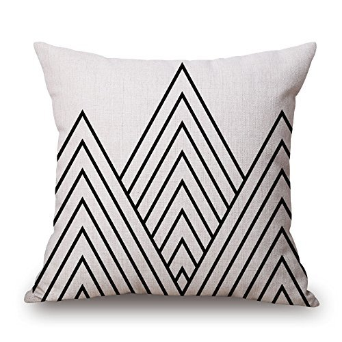 [Uloveme Throw Pillow Case Of Geometric 18 X 18 Inches / 45 By 45 Cm,best Fit For Boy Friend,kids Boys,saloon,club,boys,monther Twice] (Leo Johnson Costume)