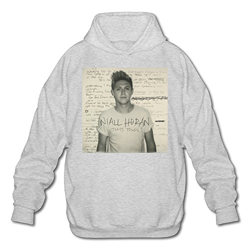 Niall This Town Horan Men's Fleece Hoodie Adult Sweater Ash - Towson Town