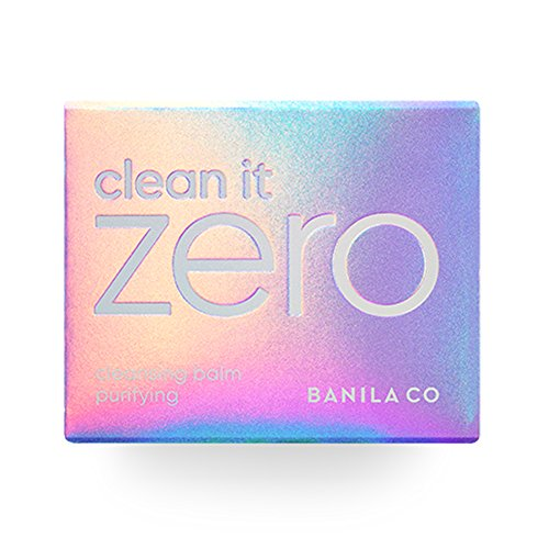 BANILA CO NEW Clean It Zero Purifying Cleansing Balm Makeup Remover & Face Cleanser, Sensitive Skin, Balm to Oil, Double Cleanse, Acne, Breakouts, Redness, 100ml