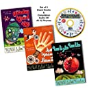 Arabic Nursery Rhymes Box Set: Audio CD and 3 Board Books: This Is the Way Fish Swim, Tasseh Tarantaseh, My Turtle's Name Is Nahla
