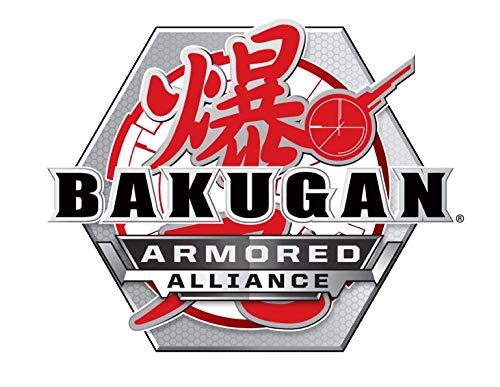 Bakugan Ultra, Darkus Gillator with Transforming Baku-Gear, Armored Alliance 3-inch Tall Collectible Action Figure
