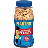Planters Whole Peanuts, Dry Roasted, 16 Ounces
