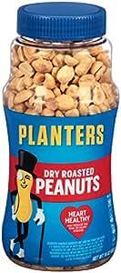 Planters Whole Peanuts, Dry Roasted, 16 Ounces
