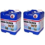 Reliance Products Aqua-Tainer 7 Gallon Rigid Water Container (Pack of 2)