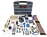 A&R Uno Micro Starter Kit for Arduino, Complete Set with ESP32, 18 Sensor Modules, Bluetooth, WiFi for Learning Electronics STEM Robotics Projects