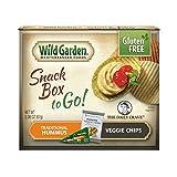 hummus dish - Wild Garden Snack Combo to Go, Hummus & Veggie Chips - Traditional - 2.36 oz, (Pack of 6)