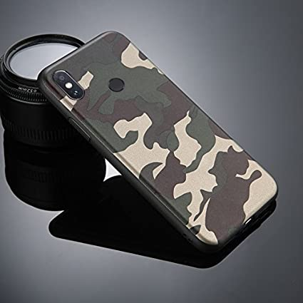 850671ddeb8 GLOVER Military Design Silicone Back Cover Case for  Amazon.in  Electronics