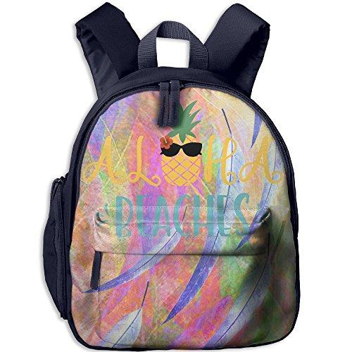 Children Pre School Backpack Boy&girl's Pineapple Sunglasses Book ()