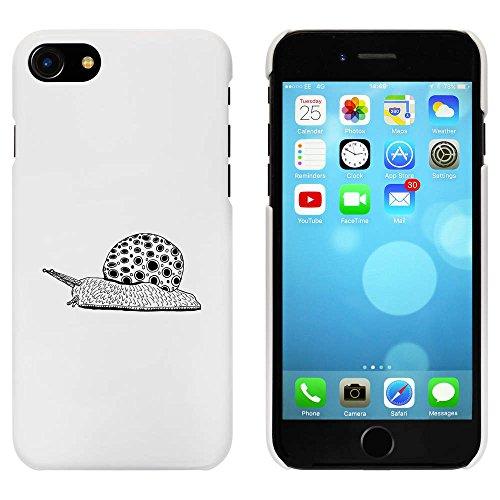 Blanc 'Jazzy Snail' étui / housse pour iPhone 7 (MC00070410)