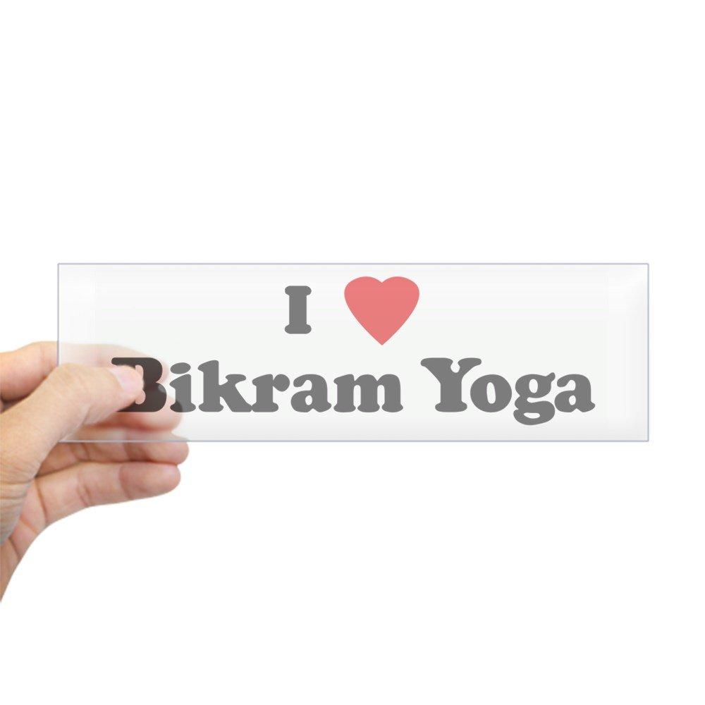 Amazon.com: CafePress I Love Bikram Yoga Bumper Sticker ...