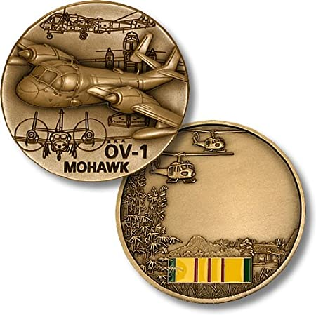 U.S United States ArmyOV-1 MohawkMilitary Challenge Coin