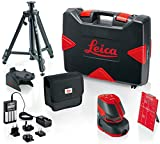 Leica Lino L2P5 Pro Package Line and Point Laser Pro Kit, Red/Black