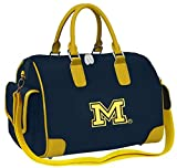 Michigan Wolverines Deluxe Handbag Purse