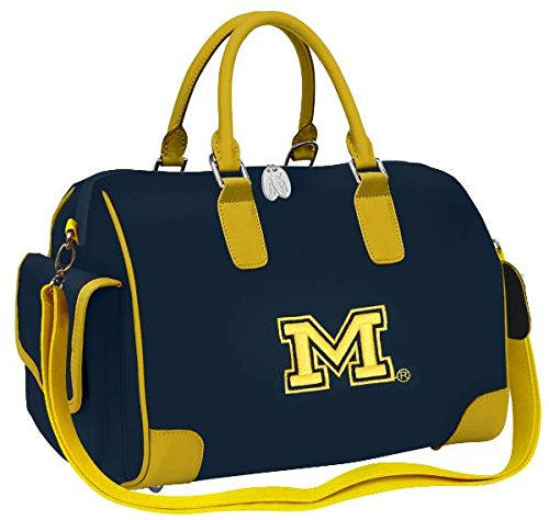 Michigan Wolverines Deluxe Handbag Purse by Charm14