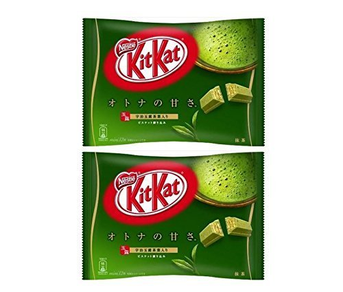 - Nestle Nestl? Kit Kat Matcha kitkat Matcha (green tea) 12 sheets X2 bag set