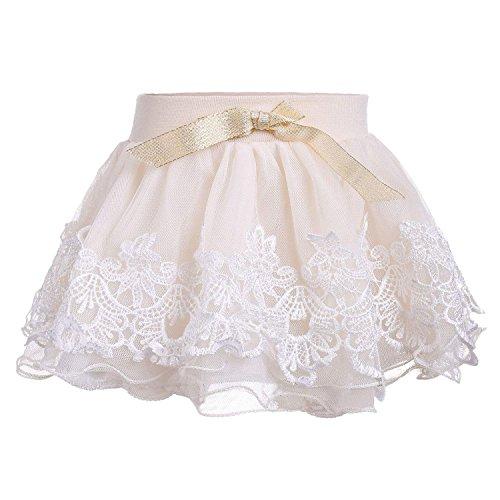 Arshiner Kids Girls Cute Chiffon Tutu Full Pettiskirt Baby Princess Skirt Dancewear