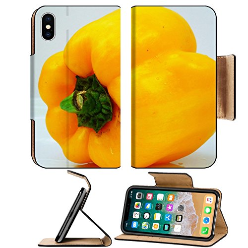 China Dishes Value - Liili Premium Apple iPhone X Flip Pu Leather Wallet Case IMAGE ID 32144990 Yellow sweet pepper contain capsaicin and has many nutritional value and benefits