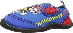 Josmo Kids Baby Boy\'s Paw Patrol Aqua Sock (Toddler/Little Kid) Blue Slipper