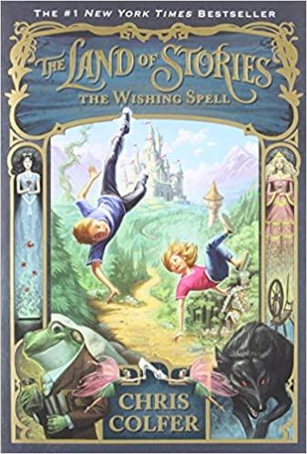 The Wishing Spell (The Land of Stories): Chris Colfer, Brandon