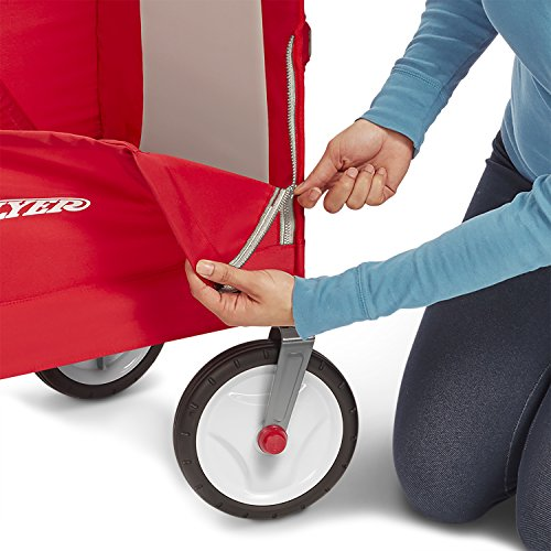 513aVpO7wtL - Radio Flyer 3-in-1 EZ Folding Wagon for kids and cargo