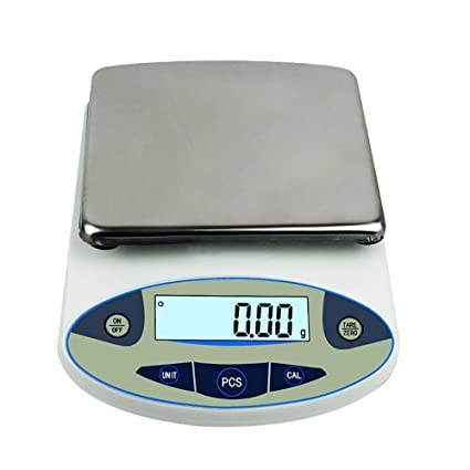 7842def60c81 Amazon.com : BAOSHISHAN 5000g/0.01g Analytical Electronic Balance ...